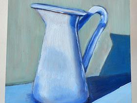 White Water Pitcher